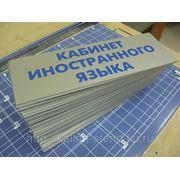 Табличка 100х300 фото