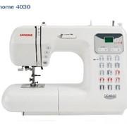 Швейная машина с микропроцессорным управлением - Janome 4030 фото