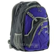 Рюкзак трэвел 35 v2 серый/синий код товара: 00039500 фото