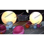 Рекламный шар: осветительный шар фото