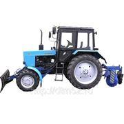 Аренда трактора МТЗ (щетка+отвал)