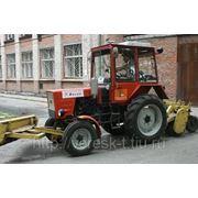 Услуги подметального трактора Тюмень фото