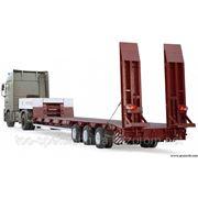 Перевозка негабаритов и тяжеловесных грузов фото