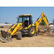 Услуги трактора (экскаватор-погрузчик JCB-3CX) фото