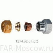 Фитинг SolarFAR 1, вр с концовкой для стальных и медных труб D 22, артикул FC 5872 122 фото
