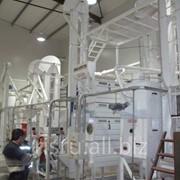 Оборудование для промасливания крупы рисовой Камолино