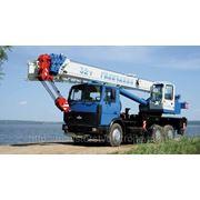 Аренда автокрана Галичанин 32 тонны 30 метров фото