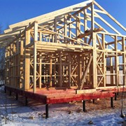 Строительство каркасных домов Украина фото