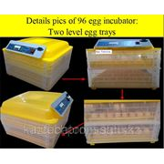 Инкубатор автоматический на 96 яиц фото