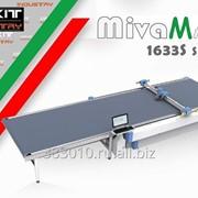 Автоматический однослойный конвейерный раскройный комплекс диском MivaMAC серия MV-1633S (поле 160х330 см) Италия фото