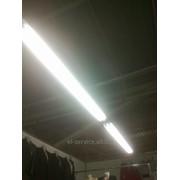 Монтаж светильников с люминесцентными лампами фото