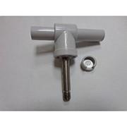 Рем. комплект уключины серый металлический штырь+поворотный шарнир фото