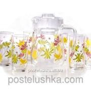 Набор для напитков Luminarc CRAZY FLOWERS G4621 7 предметов фото