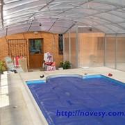 Накрытия для бассейнов, приямков фото