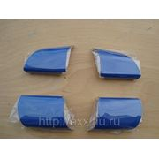 Ford Focus: накладки рулевого колеса, цвет синий фото
