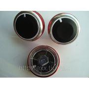 Форд Фокус: ручки кондиционера тип №2, красные фото