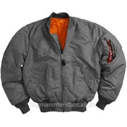 Зимняя серая куртка фото