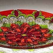 Стеклянная тарелка арт. AF 0034 001 фото