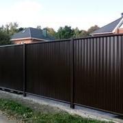 Забор из профнастила (металлопрофиля) - полная комплектация для установки фото