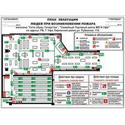 Планы эвакуации по ГОСТ Р 12.2.143-2009 фото