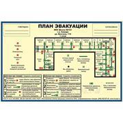 План эвакуации по ГОСТ Р 12.2.143-2009 (Фотолюминесцентный) фото