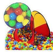 Палатка треугольная Edu-play +100 шаров фото