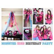 """День рождение в школе """"Monster High""""(Монстр Хай) фото"""