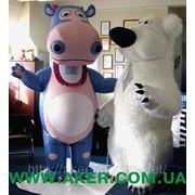 Ростовые куклы — Бегемот и Медведь