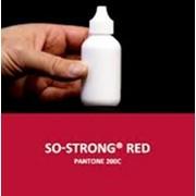 Жидкий концентрированный краситель красного цвета для полиуретанов SO-Strong Red фото