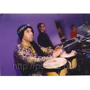 Шоу барабанов, песочное шоу фото