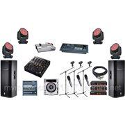 Аренда комлектов звукового и светового оборудования фото