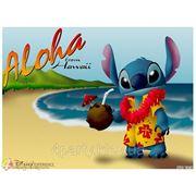 Магнит Гавайский Алоха (стич) фото