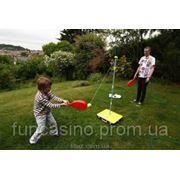 Веселый теннис - игра на природе фото