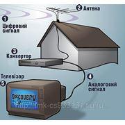 Монтаж оборудования для спутникового и эфирного вещания фото