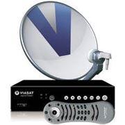 Установка систем спутникового ТВ Виасат фото