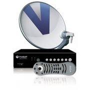 Спутниковое телевидение VIASAT SRT 7707 + карта доступа, фото