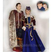 Куклы-портреты в исторических костюмах фото