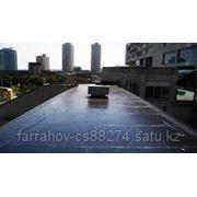 Ремонт крыши ,напыление жидкой резины фото