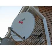 Установка и монтаж спутниковых коллективных телевизионных антенн фото