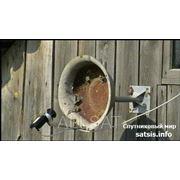Спутниковое телевидение установка, ремонт фото