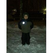 Световозвращающие, светоотражающие значки, термонаклейки на заказ фото