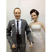 Куклы-портреты к свадьбе фото