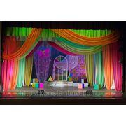 Оформление сцен и концертных площадок фото