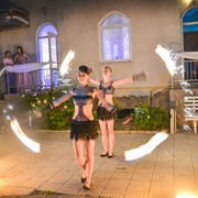 Огненная шоу-программа на 5 минуты | ДУЭТ | фаер шоу Одесса фото