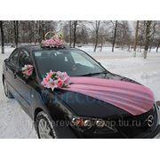 Прокат свадебных украшений на авто фото