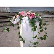 Цветы на главный стол фото