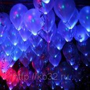 Светящиеся воздушные шары фото