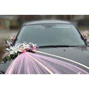 Украшение свадебных автомобилей №1 фото