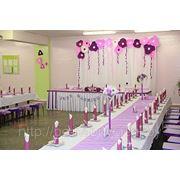 Оформление столов для гостей на свадьбе Волковыск Гродно фото