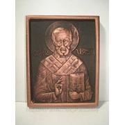 Икона «Николай Чудотворец» фото
